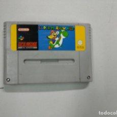 Videojuegos y Consolas: SUPER MARIO WORLD - SUPER NINTENDO SNES - PAL. Lote 140243166