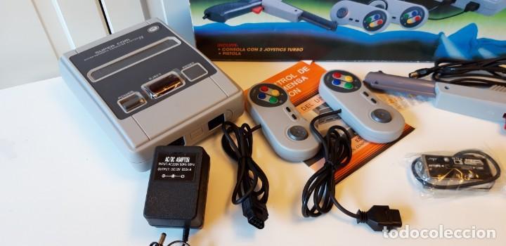 Videojuegos y Consolas: Consola clon Super Nintendo con 211 juegos Arcade. - Foto 2 - 140429058
