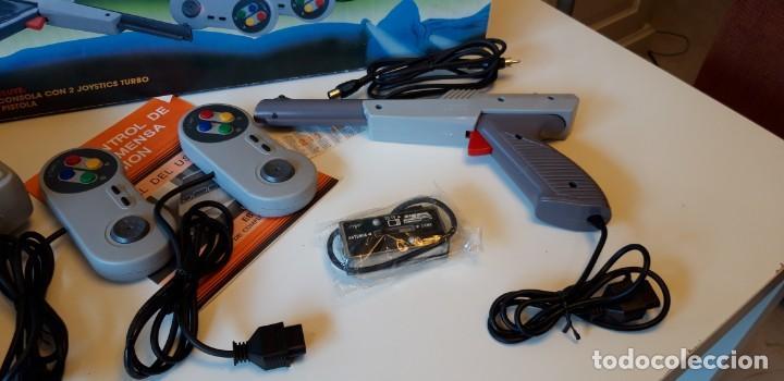 Videojuegos y Consolas: Consola clon Super Nintendo con 211 juegos Arcade. - Foto 3 - 140429058