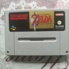 Videojuegos y Consolas: THE LEGEND OF ZELDA A LINK TO THE PAST SUPER NINTENDO SNES. Lote 140613214