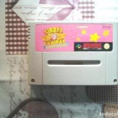 Videojuegos y Consolas: KIRBY´S FUN PAK 8 GAMES IN ONE SPER NINTENDO SNES. Lote 141486930