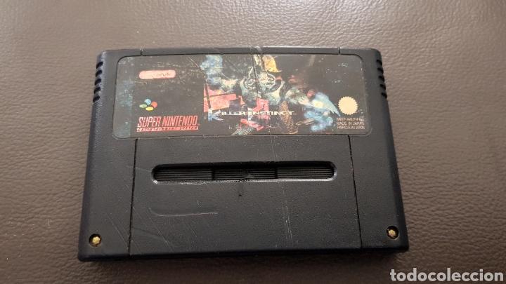 JUEGO SUPERNINTENDO KILLER INSTINCT SNES CARTUCHO SUPER NINTENDO (Juguetes - Videojuegos y Consolas - Nintendo - SuperNintendo)