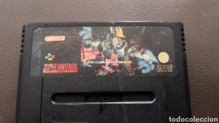 Videojuegos y Consolas: Juego Supernintendo Killer Instinct SNES cartucho Super Nintendo - Foto 2 - 141555728