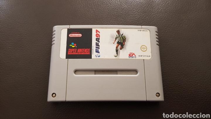 JUEGO SUPERNINTENDO FIFA 97 SNES CARTUCHO SUPER NINTENDO (Juguetes - Videojuegos y Consolas - Nintendo - SuperNintendo)