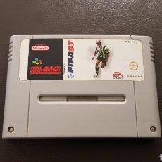 Videojuegos y Consolas: JUEGO SUPERNINTENDO FIFA 97 SNES CARTUCHO SUPER NINTENDO. Lote 141558820