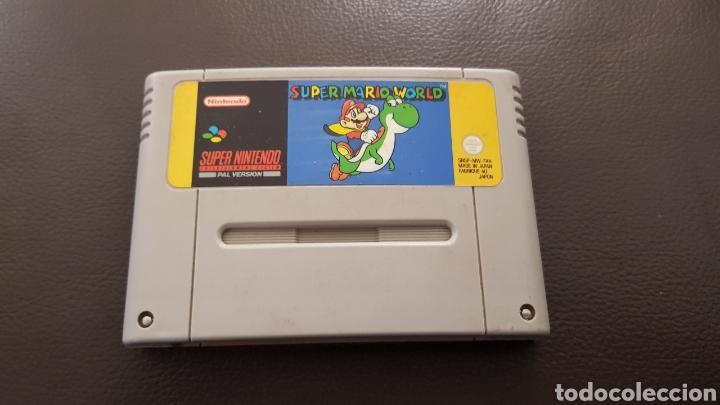 JUEGO SUPERNINTENDO SUPER MARIO WORLD SNES CARTUCHO SUPER NINTENDO (Juguetes - Videojuegos y Consolas - Nintendo - SuperNintendo)