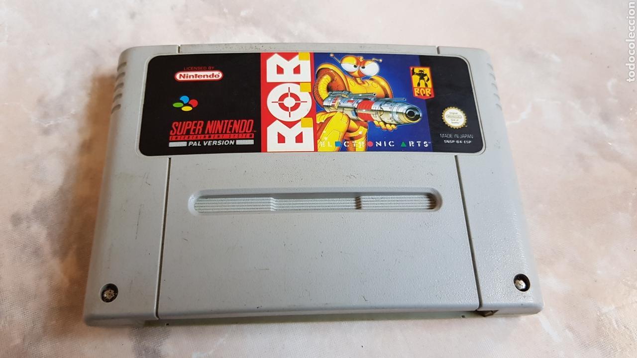 JUEGO SUPERNINTENDO BOB SNES SUPER NINTENDO (Juguetes - Videojuegos y Consolas - Nintendo - SuperNintendo)
