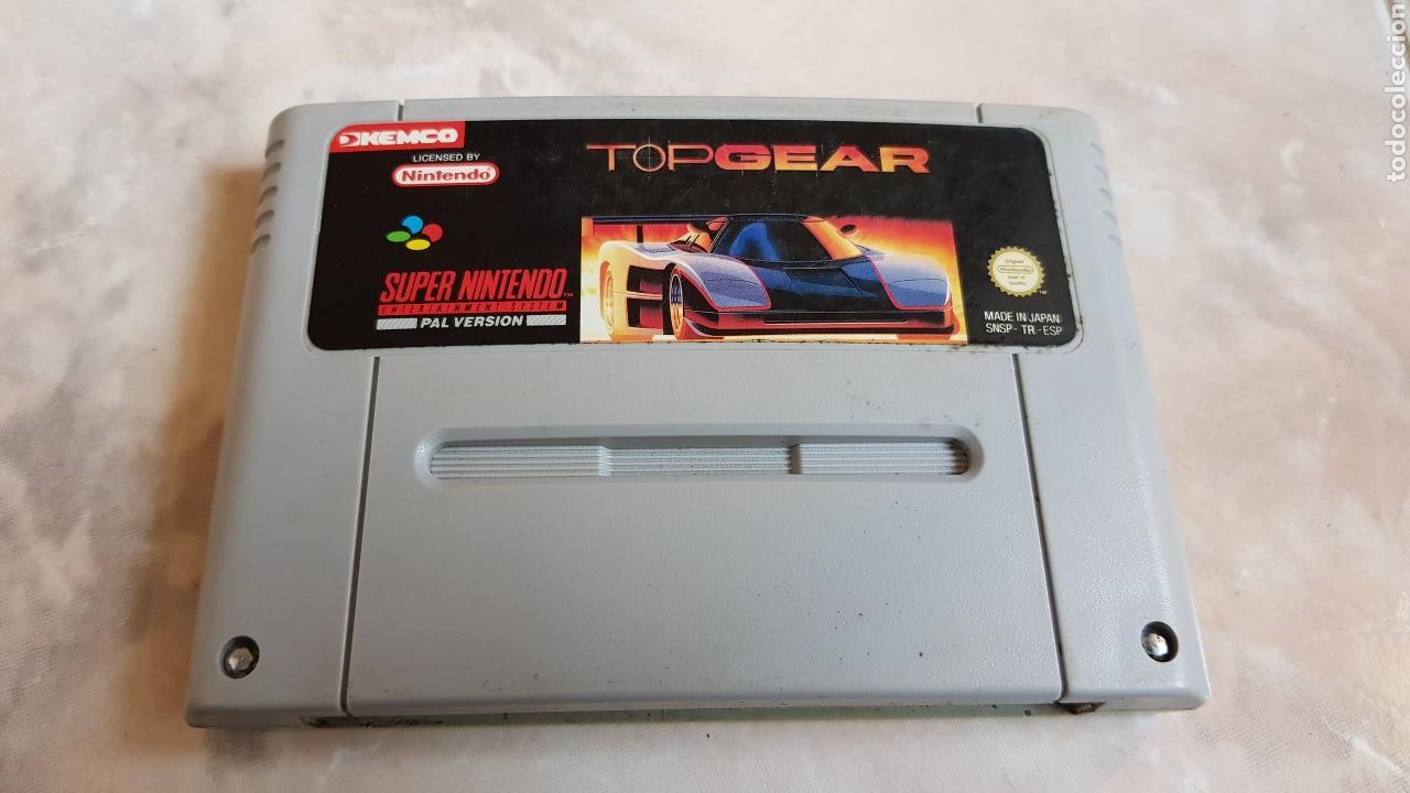 JUEGO SUPERNINTENDO TOPGEAR SNES SUPER NINTENDO CARTUCHO (Juguetes - Videojuegos y Consolas - Nintendo - SuperNintendo)