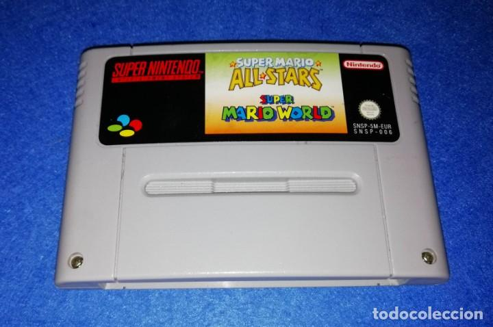 Nintendo super nintendo - super mario all stars - Sold at