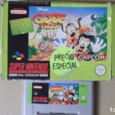 Videojuegos y Consolas: JUEGO SUPERNINTENDO SUPER NINTENDO ORIGINAL GOOF TROOP PAL VERSION. Lote 143117454