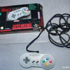 Videojuegos y Consolas: SUPER NINTENDO NES CONTROLLLER MANDO EN CAJA ORIGINAL. Lote 143229374