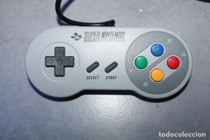 Videojuegos y Consolas: Super Nintendo NES Controlller Mando en caja Original - Foto 2 - 143229374