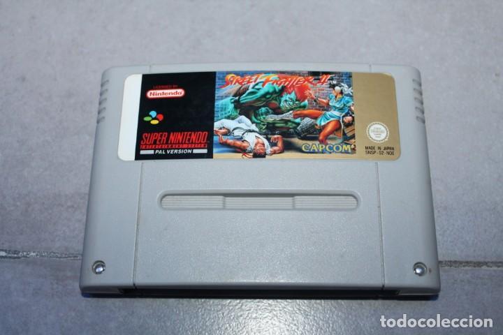 STREET FIGHTER 2 II PARA SUPER NINTENDO NES SOLO CARTUCHO PAL (Juguetes - Videojuegos y Consolas - Nintendo - SuperNintendo)