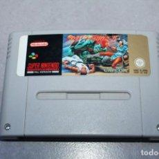 Videojuegos y Consolas: STREET FIGHTER 2 II PARA SUPER NINTENDO NES SOLO CARTUCHO PAL. Lote 143229658