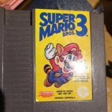 Videojuegos y Consolas: SUPER MARIO 3 DE NINTENDO NESS , PERFECTO. Lote 143852602