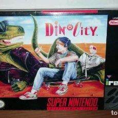 Videojuegos y Consolas: DINOCITY SNES SUPERNINTENDO NTCS. Lote 143933154