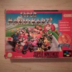 Videojuegos y Consolas: SUPER MARIO KART SUPER NINTENDO SNES. Lote 164286773