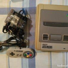 Videojuegos y Consolas: CONSOLA SUPERNINTENDO SNES. Lote 130664988