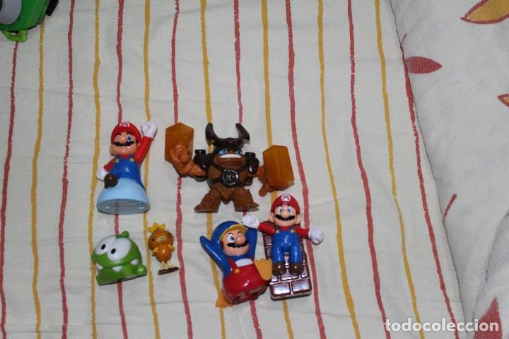 Fantástico Figuras Juegos De Vídeo Personajes Lote Y Mario Bros wO80mNnv