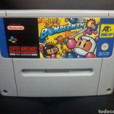Videojuegos y Consolas: SUPER BOMBERMAN SUPER NINTENDO SNES. Lote 146242273