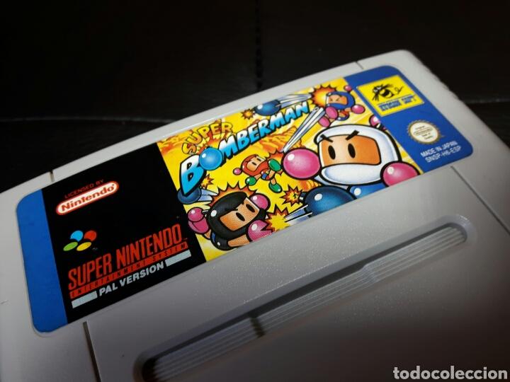Videojuegos y Consolas: Super Bomberman super nintendo snes - Foto 3 - 146242273