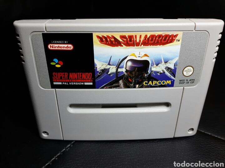 U.N. SQUADRON SUPER NINTENDO SNES (Juguetes - Videojuegos y Consolas - Nintendo - SuperNintendo)