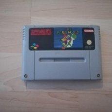Videojuegos y Consolas: SUPER MARIO WORLD SUPER NINTENDO SNES. Lote 146545226