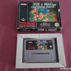 Videojuegos y Consolas: JOE AND MAC CAVEMAN NINJA SNES PARA SUPERNINTENDO. Lote 147182814