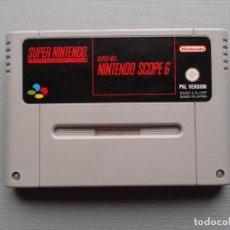 Videojuegos y Consolas: JUEGO SUPER NINTENDO SNES SCOPE 6 PAL ESPAÑA PLENO FUNCIONAMIENTO R8297. Lote 147342470