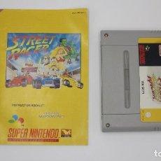 Videojuegos y Consolas: STREET RACER SUPER NINTENDO CON MANUAL. Lote 147675042