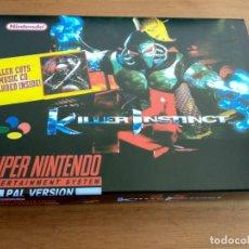 Videojuegos y Consolas: SUPER NINTENDO KILLER INSTINCT PAL ESPAÑA CAJA . Lote 149227142