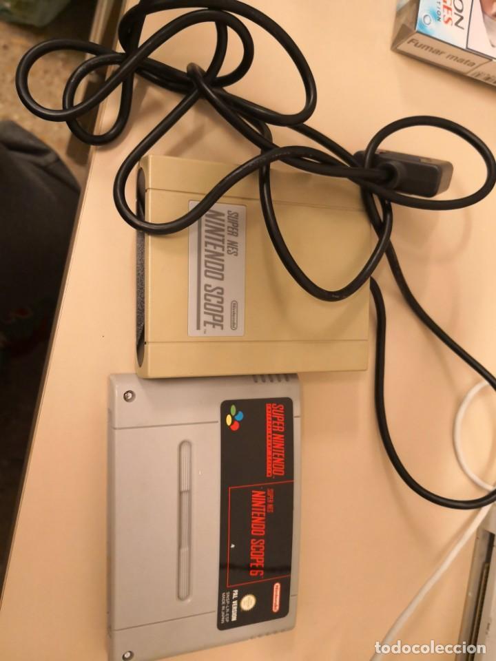 SUPER NES NINTENDO SCOPE PARA SUPER NINTENDO MÁS JUEGO SCOPE 6 PAL VERSION ESPAÑOL (Juguetes - Videojuegos y Consolas - Nintendo - SuperNintendo)