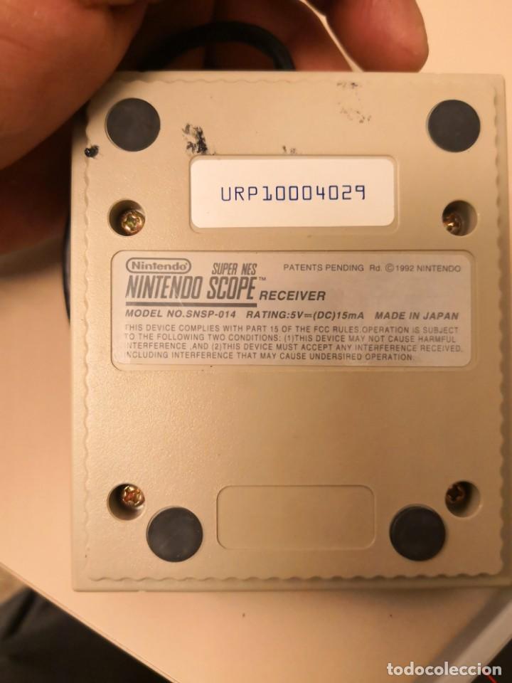 Videojuegos y Consolas: SUPER NES NINTENDO SCOPE PARA SUPER NINTENDO más juego scope 6 pal version español - Foto 6 - 150562186
