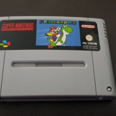 Videojuegos y Consolas: JUEGO SUPERNINTENDO SUPER MARIO WORLD RETROVINTAGEJUGUETES SUPER NINTENDO. Lote 150606110