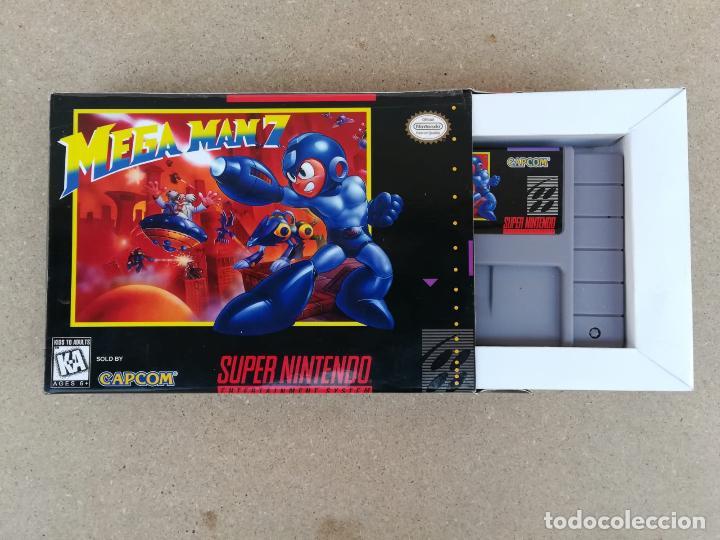 MEGAMAN MEGA MAN 7 NTSC AMERICANO - REPRODUCCION (Juguetes - Videojuegos y Consolas - Nintendo - SuperNintendo)