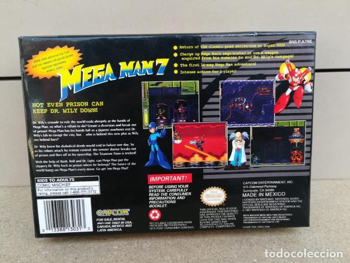 Videojuegos y Consolas: megaman mega man 7 ntsc americano - reproduccion - Foto 4 - 190713525