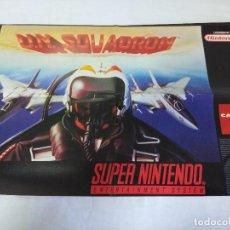Videojuegos y Consolas: POSTER SUPER NINTENDO/U.N. SQUADRON.. Lote 151400710