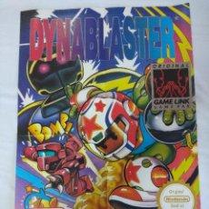 Videojuegos y Consolas: POSTER GAME BOY NINTENDO/DYNABLASTER.. Lote 239369230
