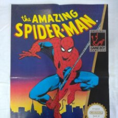 Videojuegos y Consolas: POSTER GAME BOY NINTENDO/THE AMAGAZING SPIDERMAN.. Lote 151401078