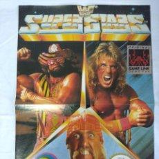 Videojuegos y Consolas: POSTER GAME BOY NINTENDO/WF SUPER STARS.. Lote 239369380