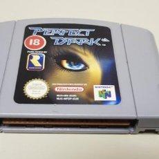 Videojuegos y Consolas: J- PERFECT DARK NINTENDO 64 VERSION EUROPEA NUS-006 MUY BUEN ESTADO 2. Lote 151423990
