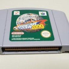 Videojuegos y Consolas: J- INTERNATIONAL SUPERSTAR SOCCER 2000 NINTENDO 64 VERSION EUROPEA NUS-006 MUY BUEN ESTAD0. Lote 151424462