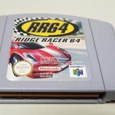 Videojuegos y Consolas: J- RR64 RIDGE RACER 64 NINTENDO 64 VERSION EUROPEA NUS -006 MUY BUEN ESTADO. Lote 151424894