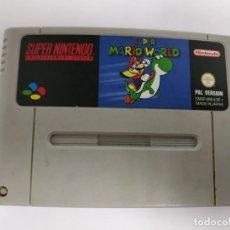 Videojuegos y Consolas: J- SUPER MARIO WORD- SUPER NINTENDO- VERSION ESPAÑOLA- . Lote 151427890
