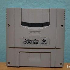 Videojuegos y Consolas: SUPER GAMEBOY SUPER NES ADAPTADOR PARA JUEGOS GAMEBOY PAL.. Lote 151620202