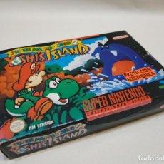 Videojuegos y Consolas: SUPER MARIO WORLD 2: YOSHI'S ISLAND (PAL/ESP). Lote 151632186