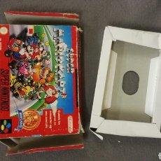 Videojuegos y Consolas: CAJA SUPER MARIO KART. SNES. Lote 151864526