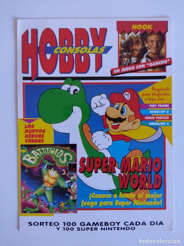 FICHA NINTENDO/MATUTANO Nº9/HOBBY CONSOLAS. (Juguetes - Videojuegos y Consolas - Nintendo - SuperNintendo)