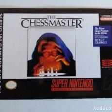 Videojuegos y Consolas: FICHA NINTENDO/MATUTANO Nº40/THE CHESSMASTER.. Lote 152220002