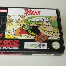 Videojuegos y Consolas: J- ASTERIX SUPER NINTENDO VERSION ESPAÑOLA . Lote 152248042